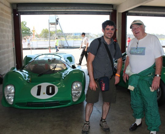 David Piper and his Ferrari 330 P4