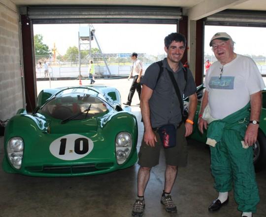 David Piper and his Ferrari 330 P4