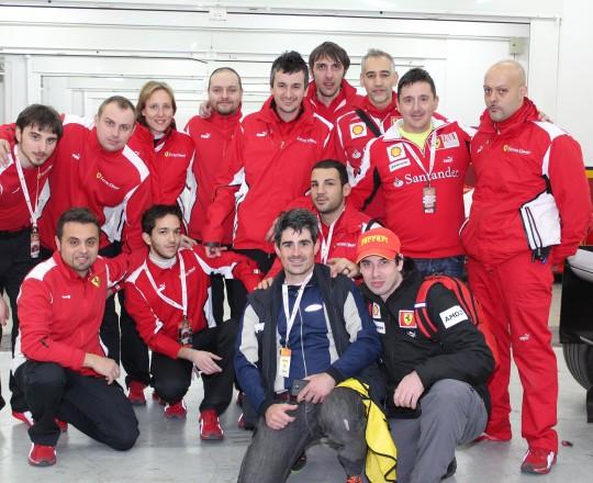 Corse Clienti Staff, Oscar Boix and Enrique Tomillo