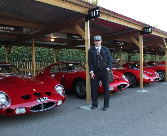 Ferrari 250 GTO in Goodwood Revival 2013