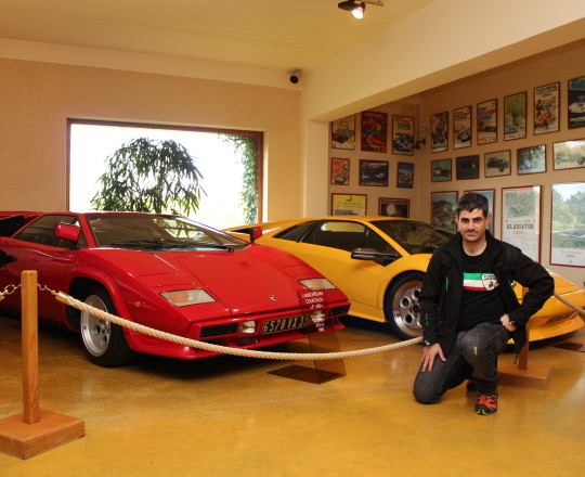 Lamborghini Countach and Diablo