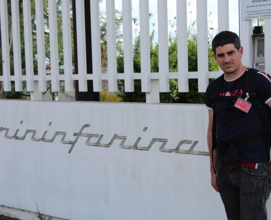 Pininfarina Museum next to Torino